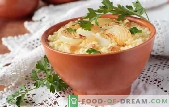 Со вкус на Кулеш: словенски рецепти! Готвење различни видови на кулеша со рецепти со просо, леќа, сланина, зеленчук, печурки