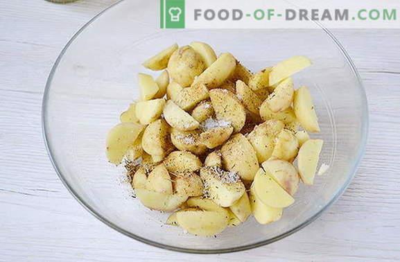 Рецепт за вкусен компир од земја во 25 минути