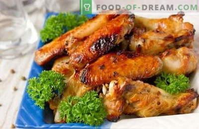 Маринадите за пилешко - најдобрите рецепти. Како да се готви на маринадата за пилешко на скара и во рерна.