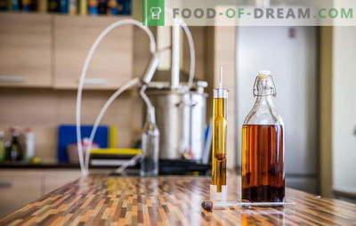 Виски дома - како е направен? Најдобриот рецепт за виски од светлина, тајни, технологија и препораки