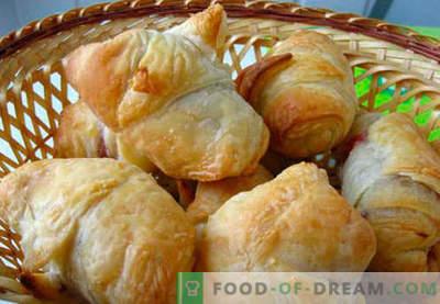 Блажени бубали (лиснато тесто) - најдобри рецепти. Како да се правилно и вкусно да се прават збунети бубали.