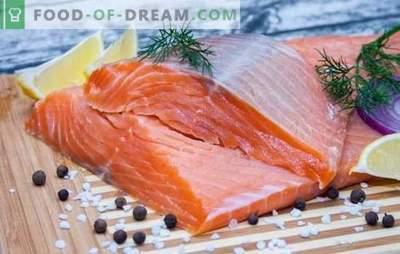 Исхрана на црвена риба: принципи и мени за недела