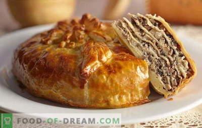 Софистицирана и вкусна питирана пита за кефир. Брзи и класични рецепти kurnikam кефир