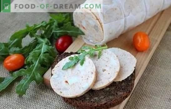 Домашна колбас: чекор по чекор рецепт. Како да направите вистински домашна колбас - чекор по чекор рецепти од природни состојки