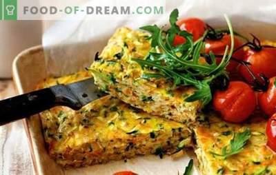 Постелни кашери - вкусна вечера за целото семејство. Рецепти за посно филети: од зеленчук, печурки, тестенини, мешунки, пита, пченка