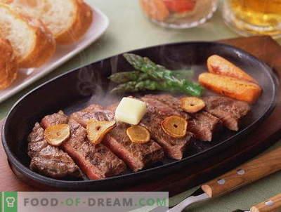 Пржено месо - најдобри рецепти. Како правилно и вкусно готви печено месо.