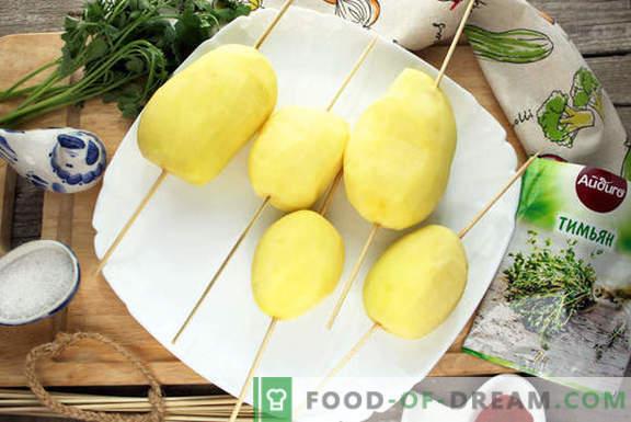 Печена компир хеликс - изненадување гости и најблиски