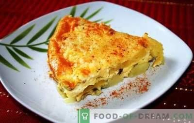 Компир тесто со сирење - сад за секој ден. Рецепти од компир и кашкавал со сирење: со месо, пилешко, мајонез
