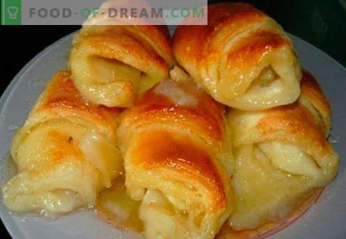 Bagels со полнење се најдобри рецепти. Како да правилно и вкусно варен bagels со полнење.