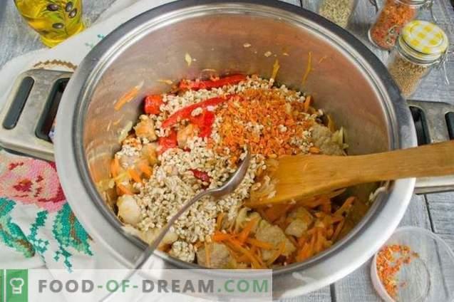 Солянка со компири и бисерски јачмен