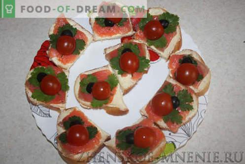 Родендени сендвичи - рецепт со фотографии и опис по чекор по чекор