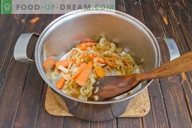 Супа од печурки со грав и компири