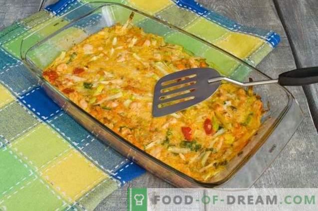Кашеница од тиквички со пилешко - без брашно и екстра калории