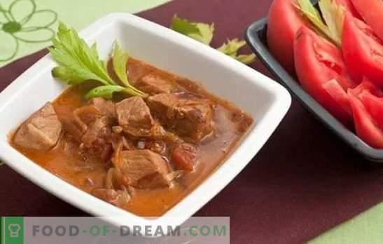 Свинско месо во пиво - сочно месо со беспрекорен вкус и арома. Најдобри рецепти за свинско месо во пиво: кисела, пржена, печена