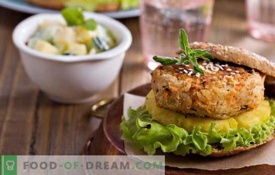 Грицки котлети - нема месо и нема потреба! Рецепти од различни котлети од грав со зеленчук, житарици, пилешко, колбаси