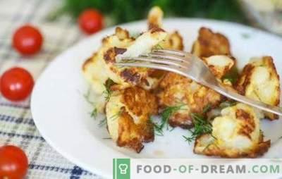 Карфиол со јајце во тава - треба да го пробате! Рецепти и готвење карфиол со јајце во тава