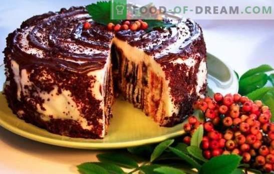 Пумпа за торта: чекор по чекор рецепти. Како да се готви вкусна торта