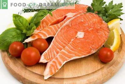 Лосос - најдобрите рецепти. Како правилно и вкусно лосос.