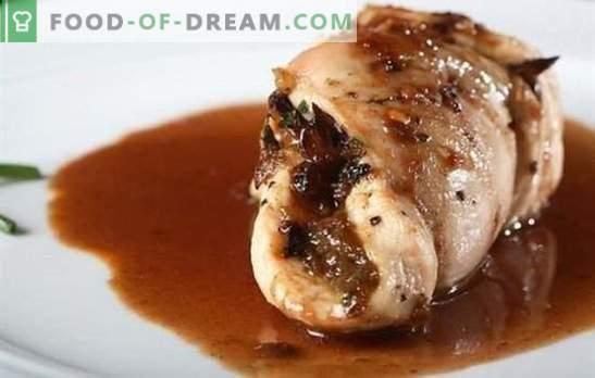 Пилешки гради во сос од соја е солени јадења со нежен вкус. Најдобри рецепти за пилешки гради во соја сос