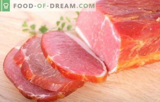 Свинскиот балик дома е природен производ! Технологија на готвење балик од свинско месо дома