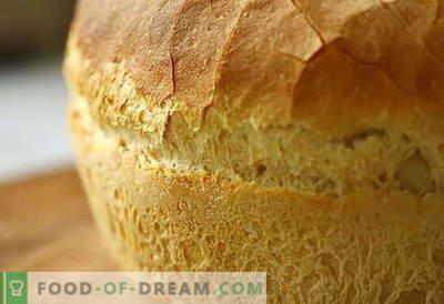 Леб во рерната - најдобри рецепти. Како правилно и вкусно готкувам леб во рерната.