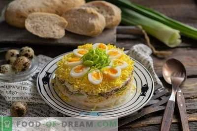 Слоена салата со туна ала