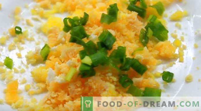 Мимоза салата рецепт конзервирана чекор по чекор со слики