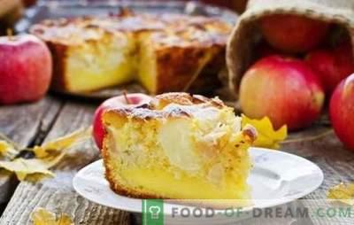 Пита од јаболка (чекор по чекор рецепт) е омилена домашна деликатес. Apple Pie: брзо готвење чекор-по-чекор рецепт