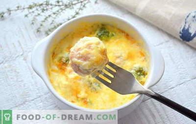 Gehaktballen met een lokaas voor soep - de beste recepten. Hoe heerlijke gehaktballen te koken met griesmeel voor soep van verschillende soorten vlees en vis