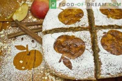 Колаче со тесто со Јаболка и Херкулес