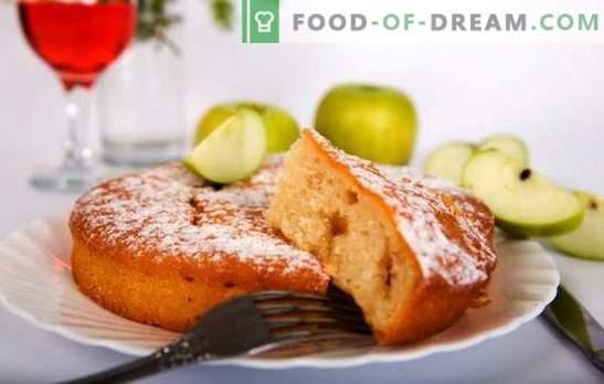 Диета шарлотка со јаболка - нема да влијае на половината! Рецепти и трикови готвење диета Шарлот со јаболка