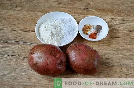 Компири во рерна како камперски оган: чекор по чекор фото рецепт. Кога сакате компири од оган, но времето нема пикник - постои решение!