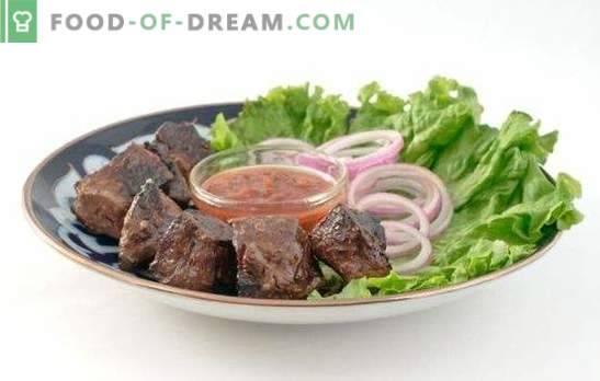 Печено говедско црниот дроб: целата тајна на свежината на производот! Рецепти говедско месо црн дроб: кисела павлака, доматен и соја сос