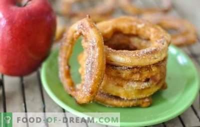 Јаболка во тесто - беспрекорно вкусен десерт. Најдобрите рецепти за јаболка во тесто од различни видови тесто: деликатес со бенефиции!