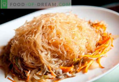 Ризовите спагети са най-добрите рецепти. Как правилно и вкусно да се готви оризови спагети у дома.