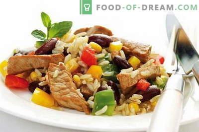 Рајс со месо - најдобриот рецепт. Како правилно и вкусно да готвиме ориз со месо.