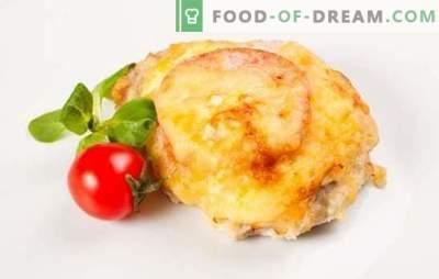 Porc aux tomates au four: un plat de viande polyvalent. Comment faire cuire le porc aux tomates au four