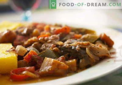 Baklažanai su mėsa - geriausi receptai. Kaip tinkamai ir skaniai virti baklažanų su mėsa.