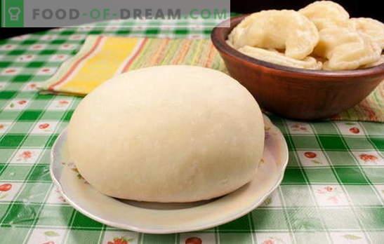 Choux тесто за кнедли - тоа ќе биде совршено! Рецепти месо тесто за кнедли: на вода, млеко, кисела павлака, разнобојни