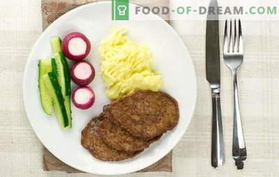 Кожени пилешки црн дроб - тие се нај тендер! Готвење пилешки црн дроб котлети со гриз, брашно, леб, зеленчук, ориз, печурки