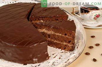 Торти. Рецепти за торта: Наполеон, Мед торта, Бисквит, Чоколада, Птичји млеко, Павлака ...
