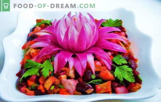 Винагрет со грав - хранлива витаминска закуска за сите прилики. Најдобри рецепти за винегрети со грав: светлина и негување