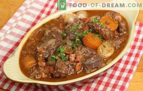 Gulasz wieprzowy z ziemniakami - pachnące tradycje. Jak gotować obfity i smaczny gulasz wieprzowy z ziemniakami