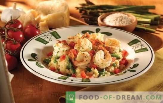 Домашен рижото - италијански вкус со свои раце. Рецепти, тајни и совети гурмани: како да се готви рижото дома