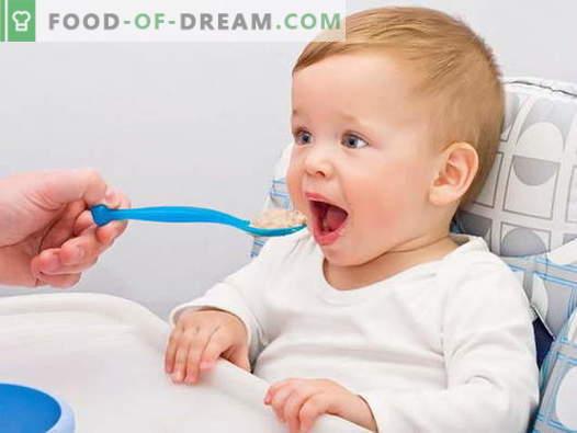 Бебе житни култури - најдобрите рецепти. Како да се готви каша за деца.