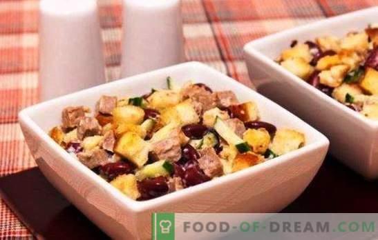 Салати со грав и сирење - негување и хранливост! Рецепти секојдневни и празнични салати со грав и сирење