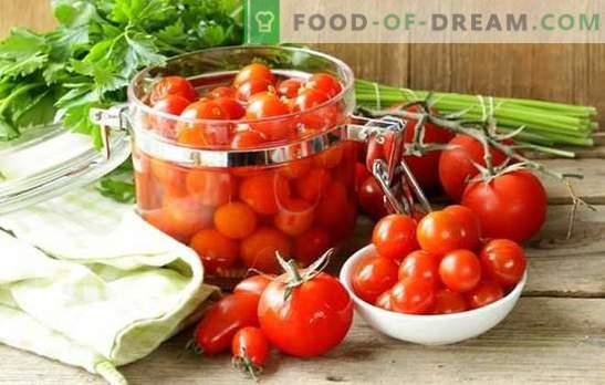Да се подготват домати за зима без готвење - дали е тешко? Најдобрите рецепти на вкусни домати за зимата без готвење
