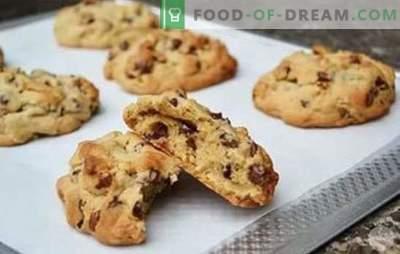 Неверојатно убави и вкусни крцкави ореви колачиња. Песок, сирење и овесна каша - рецепти бисквити со ореви