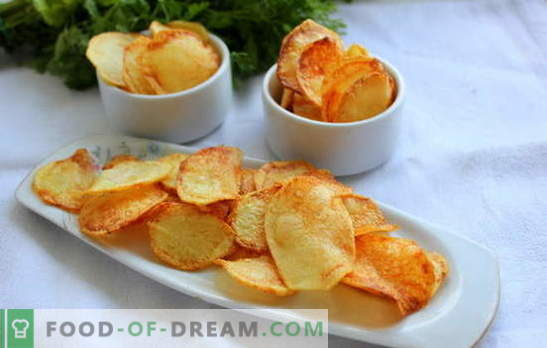 Żetony w domu - nic złego! Jak robić frytki w domu: w kuchence mikrofalowej, w piekarniku, w serze, z pita, klasycznym