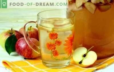 Компот од јаболка за зима - ние ќе подготвиме лето во банките! Рецепти од различни јаболка компоти за зима со и без стерилизација